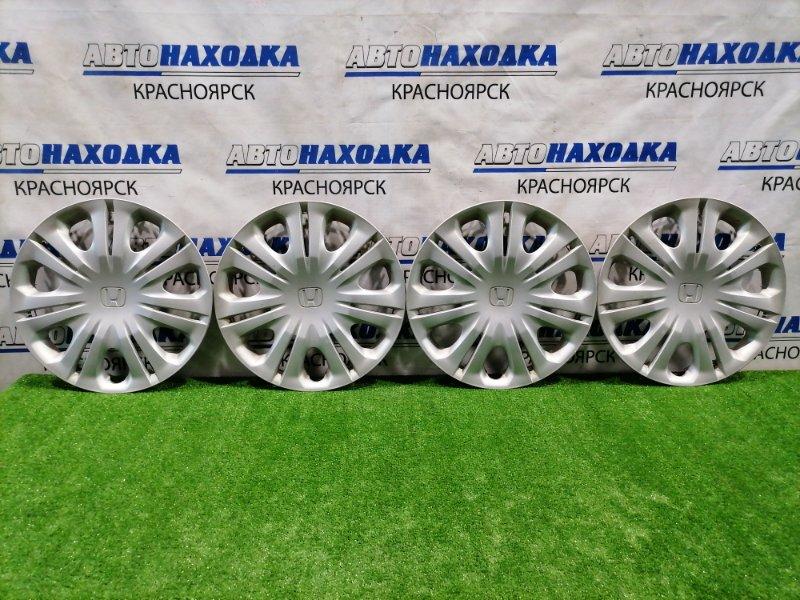 Колпаки колесные Honda Insight ZE2 LDA 2009 комплект 4 шт. R15 . Оригинал. На 3 колпаках