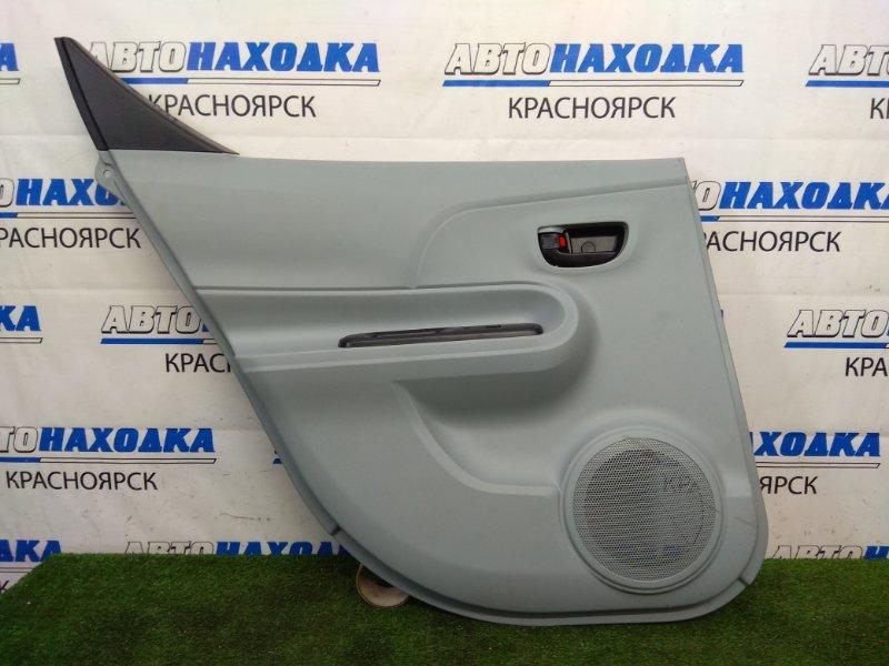 Обшивка двери Toyota Aqua NHP10 1NZ-FXE 2011 задняя левая задняя левая, серая (FC28)