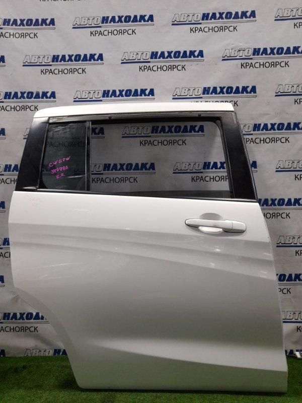 Дверь Mazda Premacy CWEFW LF-VDS 2010 задняя правая Задняя правая, в сборе. Есть потертости под