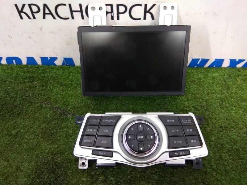 Монитор Nissan Teana J32 VQ25DE 2008 мультидисплей в сборе с клавишами управления, с фишками