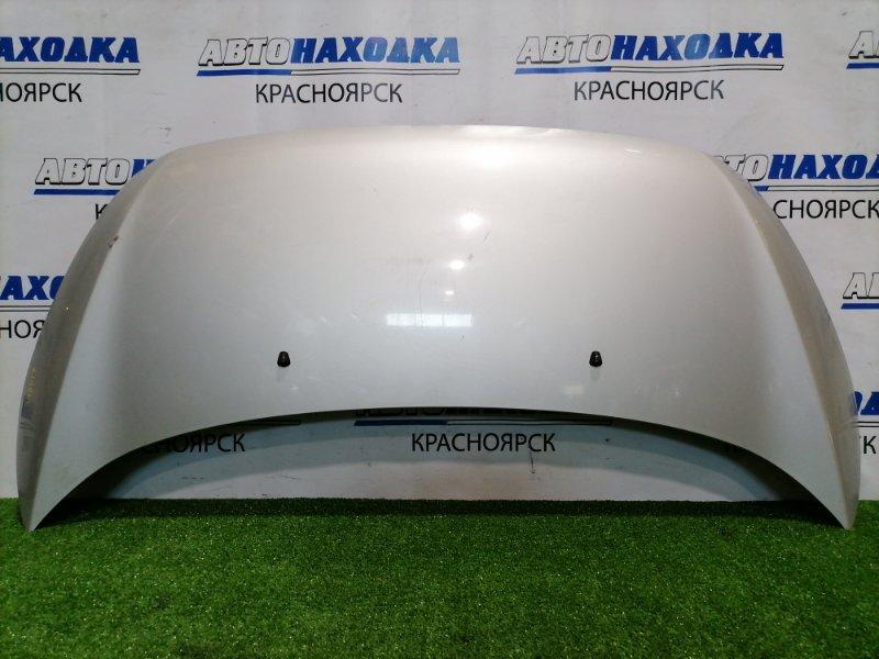 Капот Suzuki Cervo HG21S K6A 2006 передний С упором капота. есть потертости до металла,