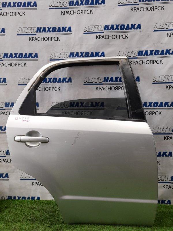 Дверь Suzuki Sx-4 YA11S M15A 2006 задняя правая задняя правая, в сборе, цвет Z2S. Есть царапины,