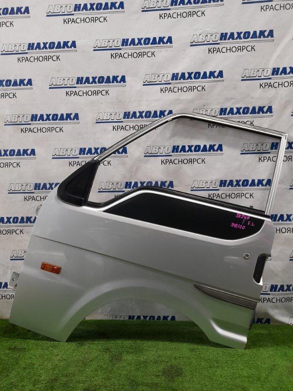 Дверь Mazda Bongo SKF2VN RF-T 1999 передняя левая передняя левая, без стекла. Есть вмятинки,
