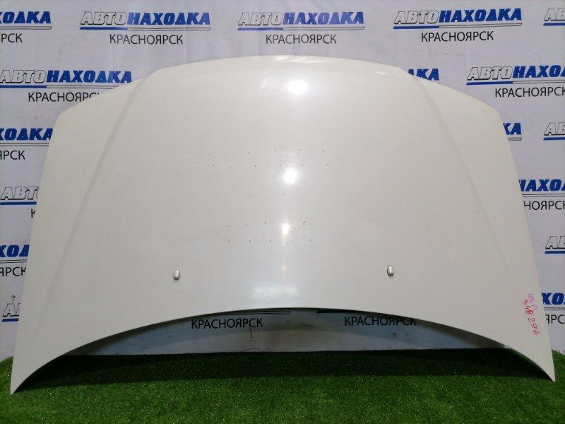 Капот Nissan Presage U30 KA24DE 1998 передний Есть потертости под полировку