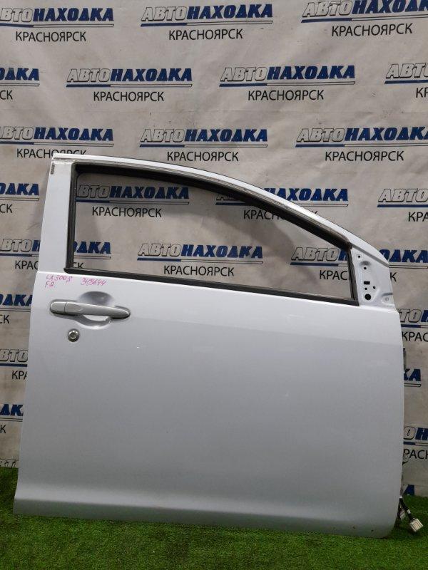 Дверь Daihatsu Mira E:s LA300S KF-VE 2011 передняя правая Передняя правая, без стекла, цвет B73. Есть