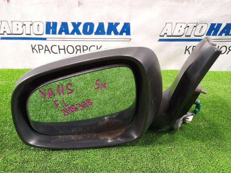 Зеркало Suzuki Sx-4 YA11S M15A 2006 переднее левое Левое, 5 контактов. Есть царапины. Не под