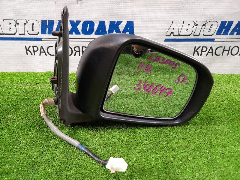 Зеркало Daihatsu Mira E:s LA300S KF-VE 2011 переднее правое Правое, 5 контактов. Есть потертость до