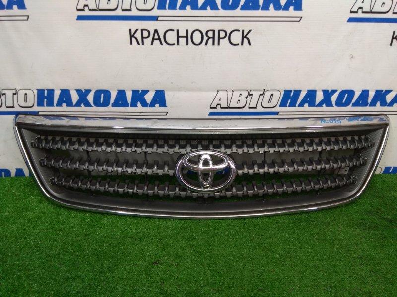 Решетка радиатора Toyota Nadia ACN10 1AZ-FSE 2001 2 модель (рестайлинг), сломано 1 крепление,
