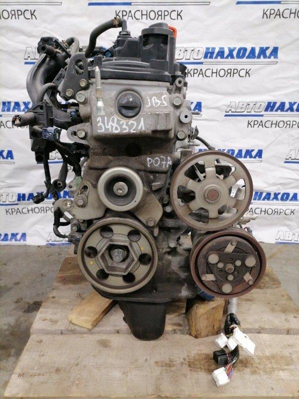 Двигатель Honda Life JB5 P07A 2003 1883173 № 1883173 пробег 46 т.км. Есть видео работы ДВС. Без
