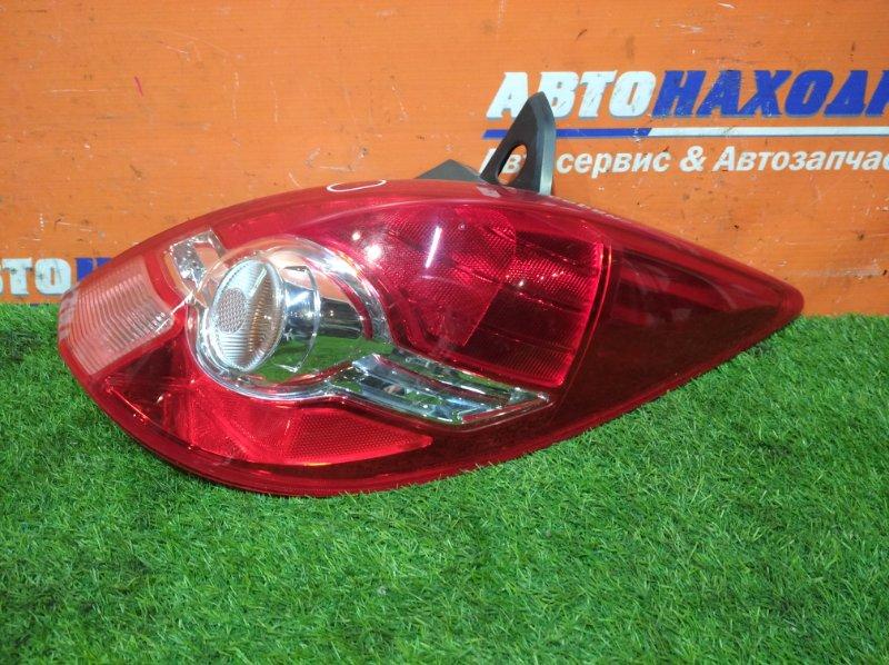 Фонарь задний Nissan Tiida C11 HR15DE 2008 правый 7511 2 мод естьскол/хэтчбек