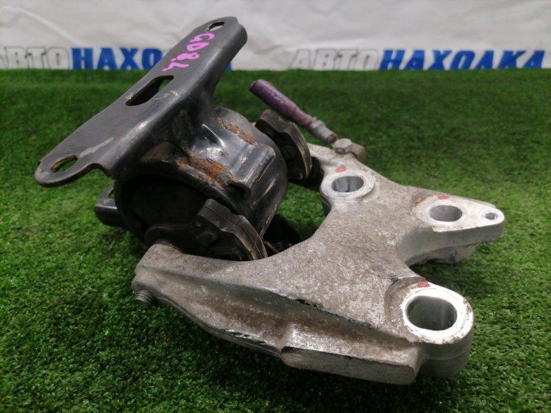 Подушка двигателя Honda Fit Aria GD8 L15A 2002 передняя левая Левая, с вариатора, с кронштейном