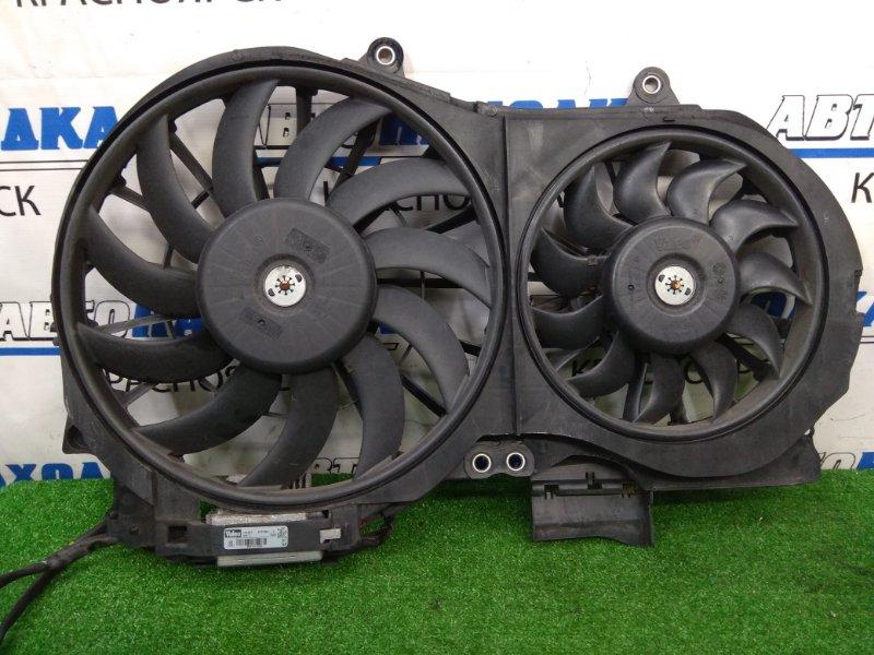 Вентилятор радиатора Audi A4 B7 ALT 2004 Диффузор в сборе с вентиляторами и блоком