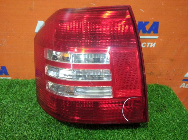 Фонарь задний Toyota Corolla Runx NZE121 1NZ-FE 2002 задний правый 13-77 2 мод есть трещины