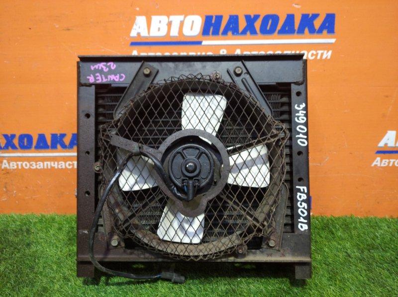 Радиатор кондиционера Mitsubishi Canter FB501B 4M40 1996 +вентилятор