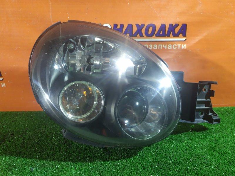 Фара Subaru Impreza GGA EJ205 передняя правая 1665 КСЕНОН В СБОРЕ. ТЕМНЫЙ ФОН. WRX STI