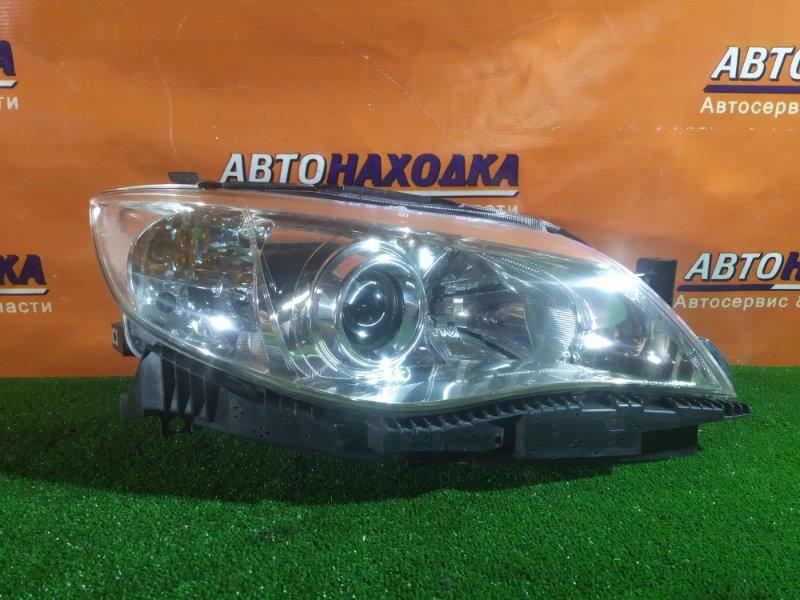 Фара Subaru Impreza GH2 EL154 06.2010 передняя правая 1809 КСЕНОН. БЕЗ ЛАМПЫ. КОРРЕКТОР