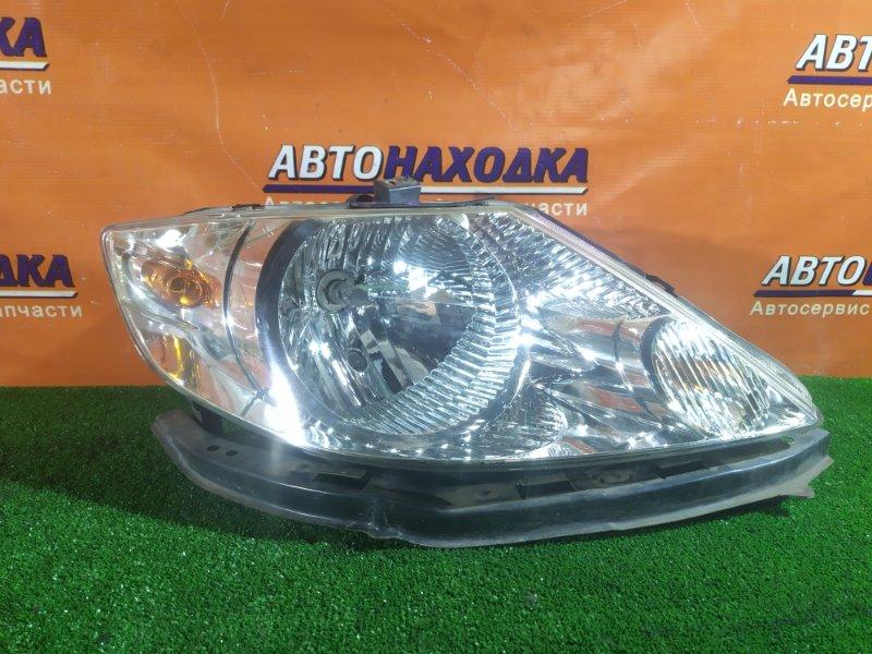 Фара Honda Fit Aria GD8 L15A передняя правая P3014 ГАЛОГЕН. +ПЛАНКА
