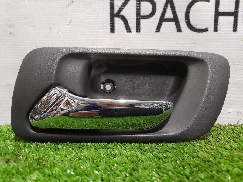 Ручка внутренняя Honda Accord CF6 F23A 1997 задняя левая Задняя левая, хром