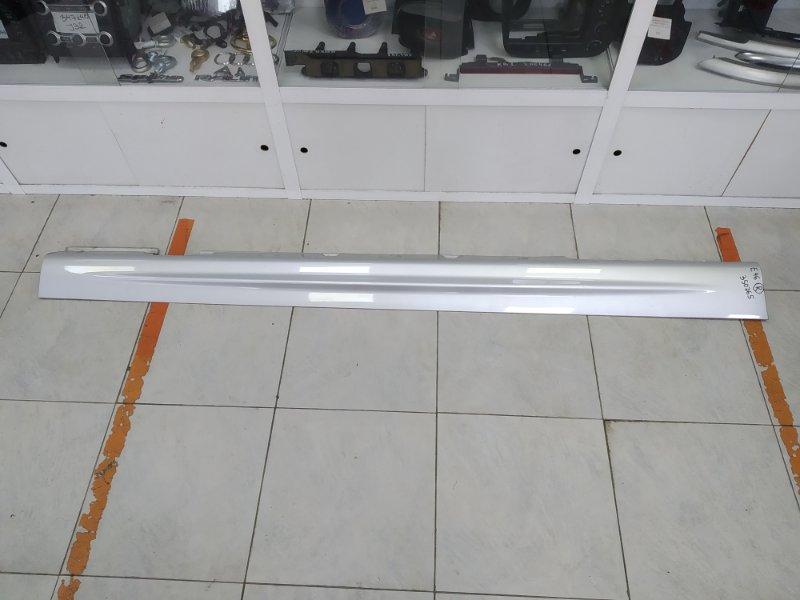 Порог Bmw 320I E46 M52 B20TU 1998 правый ХТС, пластиковый, правый, серебристый