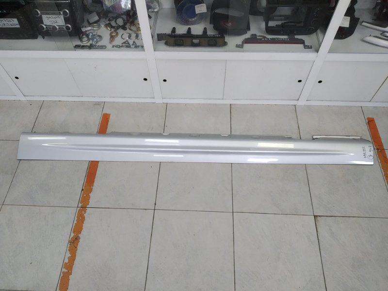 Порог Bmw 320I E46 M52 B20TU 1998 левый ХТС, пластиковый, левый, серебристый