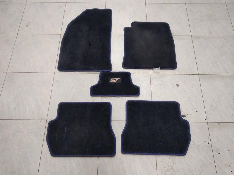 "Коврик Ford Fiesta CBK N4JB 2005 комплект 5 штук, правый руль, черные ""ST"""