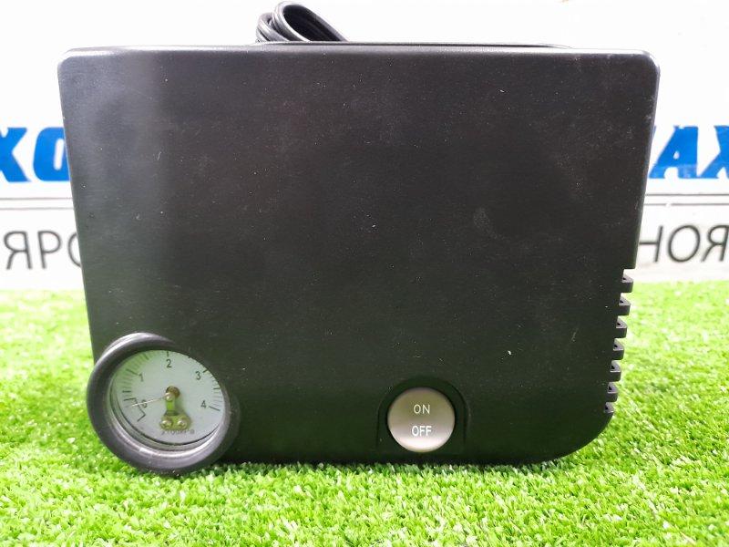 Компрессор автомобильный Nissan Штатный, от гнезда прикуривателя /DC=12V, 10A, 375 kPa,