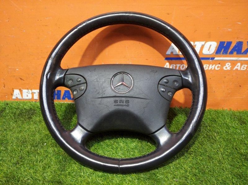 Руль Mercedes-Benz E240 W210 112.911 1999 мультируль кожа+airbag с зарядом/есть потертости