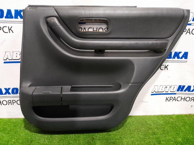 Обшивка двери Honda Cr-V RD1 B20B 1999 задняя правая Задняя правая, с подстаканником, есть
