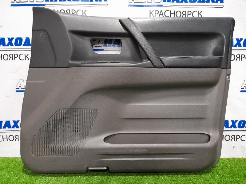 Обшивка двери Mitsubishi Pajero V75W 6G74 1999 передняя правая Передняя правая, есть потертости