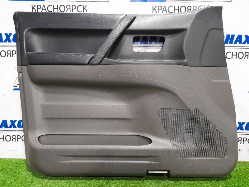 Обшивка двери Mitsubishi Pajero V75W 6G74 1999 передняя левая Передняя левая, с кнопкой управления