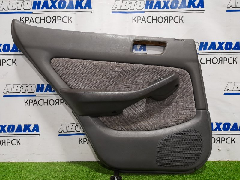 Обшивка двери Honda Accord CF6 F23A 1997 задняя левая Задняя левая, с кнопкой управления