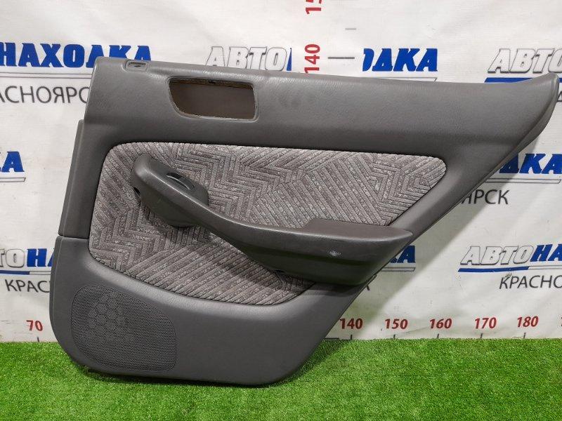 Обшивка двери Honda Accord CF6 F23A 1997 задняя правая Задняя правая, с кнопкой управления