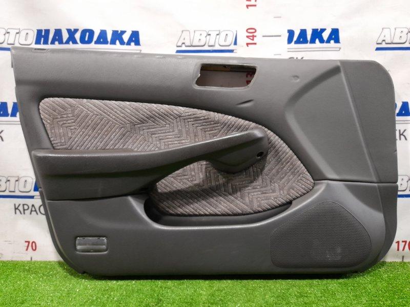 Обшивка двери Honda Accord CF6 F23A 1997 передняя левая Передняя левая, с кнопкой управления