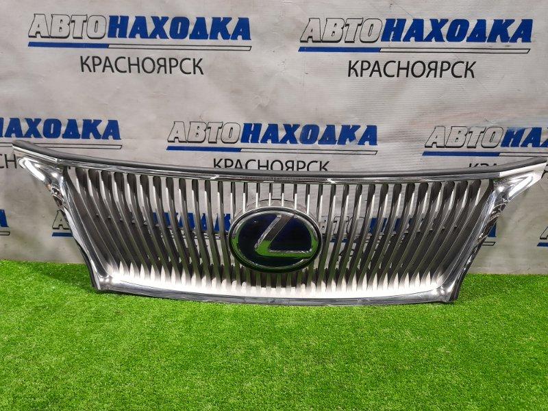 Решетка радиатора Lexus Rx450H GYL15W 2GR-FXE 2009 53121-48050 Дорестайлинг, есть незначительные