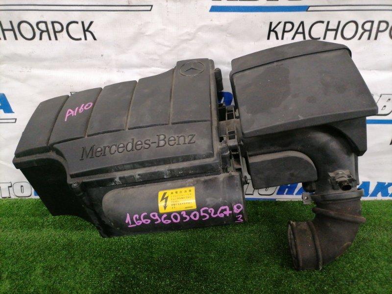 Корпус воздушного фильтра Mercedes-Benz A160 W168.033 M166 E16 2001 В сборе. Одно нижнее крепление с