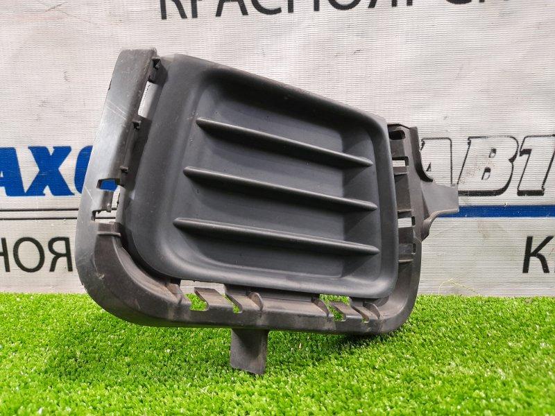 Заглушка в бампер Toyota Aqua NHP10 1NZ-FXE 2011 передняя правая передняя правая заглушка туманки.