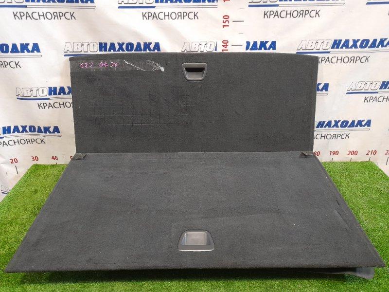 Пол багажника Volvo Xc70 SZ59 B5254T2 2004 задний В сборе, с полом. Из двух частей, с ящиком и