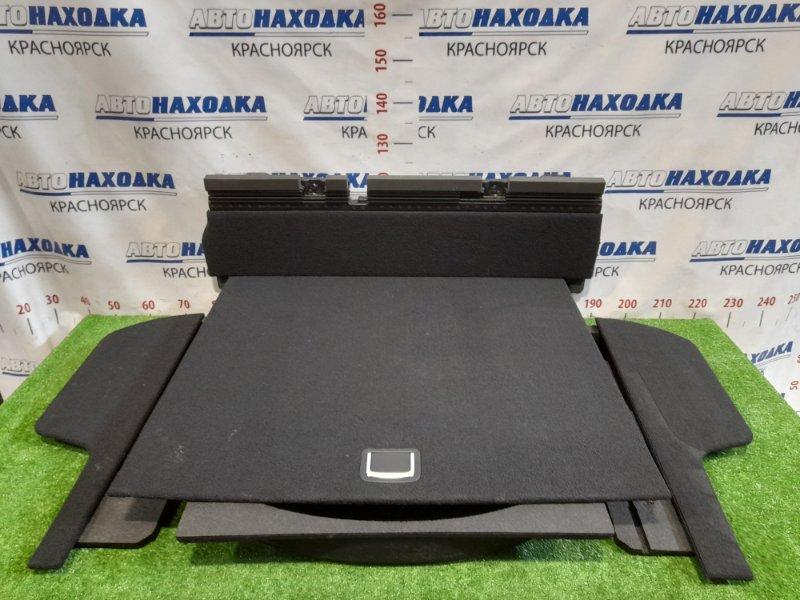 Пол багажника Subaru Legacy BP5 EJ20 2003 задний комплект: центральный ящик + боковые + крышки к