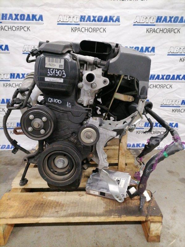 Двигатель Toyota Chaser GX100 1G-FE 1998 6872123 BEAMS № 6872123 пробег 72 т.км. 2001 г.в. С аукционного авто.
