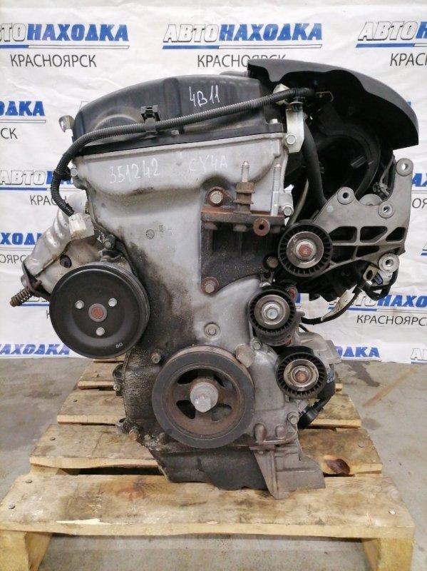 Двигатель Mitsubishi Lancer CY4A 4B11 2007 BB0925 № BB0925 пробег 106 т.км. С аукционного авто. Есть