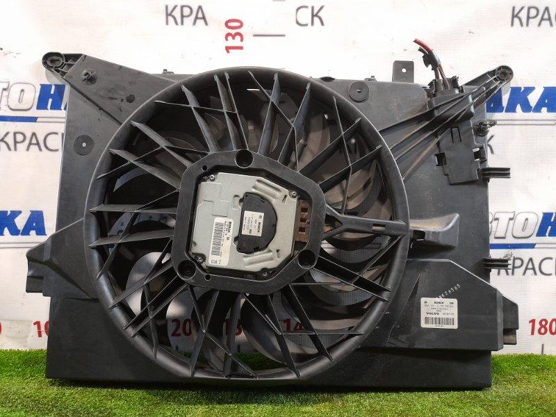 Вентилятор радиатора Volvo Xc70 SZ59 B5254T2 2004 Диффузор с вентилятором.