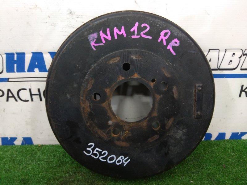 Барабан тормозной Nissan Liberty RNM12 QR20DE 1998 задний 258 мм внутренний диаметр