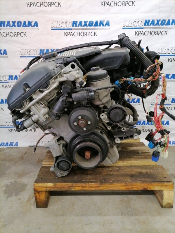 Двигатель Bmw 320I E46 M52 B20TU 1998 32592246 M52 B20TU (206S4) № 32592246 пробег 34 т.км. С аукционного авто.