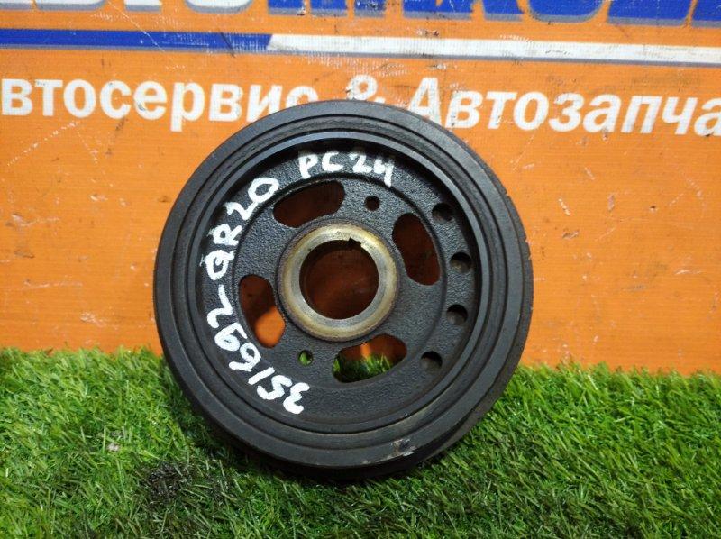 Шкив коленвала Nissan Serena TC24 QR20DE 2001