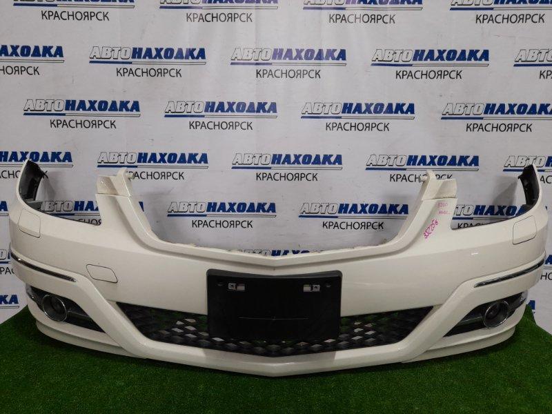 Бампер Mercedes-Benz B200 W245 266.960 2008 передний Передний, рестайлинг, с противотуманками. Есть