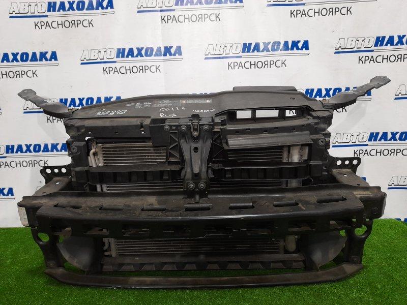 Рамка радиатора Volkswagen Golf 5K1 CDAA 2008 1K0121251DN в сборе с радиаторами (ДВС+конд+доп.