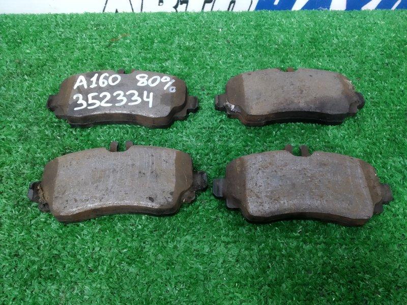Колодки тормозные Mercedes-Benz A160 W168.033 M166 E16 2001 передние передние, комплект, остаток 80%