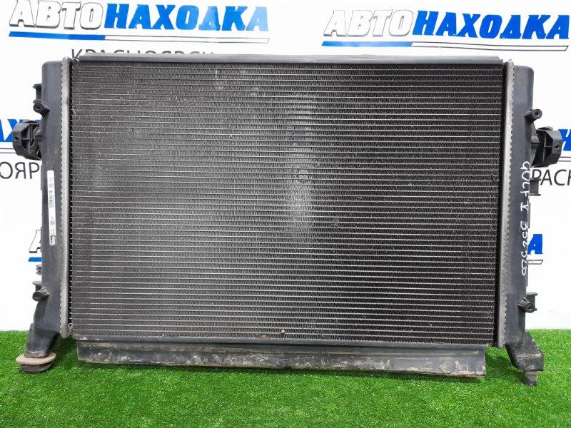 Радиатор двигателя Volkswagen Golf 1K5 CAXA 2003 1K0121251BN Радиатор дополнительный системы