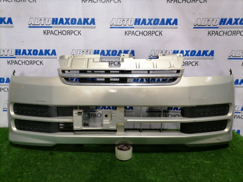 Бампер Daihatsu Mira L250S EF-SE 2005 передний передний, рестайлинг, с решеткой, заглушками,