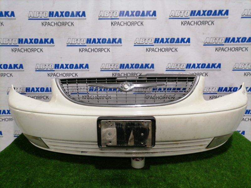 Бампер Chrysler Vouager RG EDZ 2000 передний передний, дорестайлинг, в сборе, с туманками,